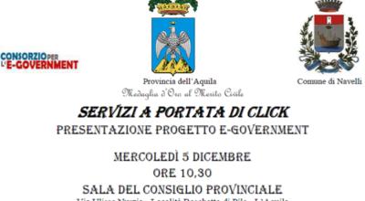 Presentazione progetto E-government
