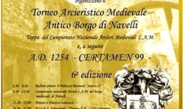 Torneo Arcieristico Medievale – Navelli 14 Luglio 2013