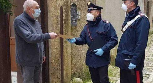 POSTE ITALIANE E CARABINIERI PER CONSEGNARE A CASA LA PENSIONE AGLI ANZIANI