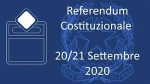 REFERENDUM COSTITUZIONALE DEL 20 E 21 SETTEMBRE 2020 – OPZIONE DEGLI ELETTORI TEMPORANEAMENTE ALL'ESTERO